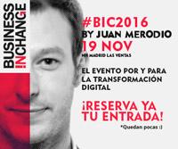 Business In Change, de la transformación digital a la disrupción