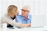 ¿Brecha entre internet y la tercera edad?