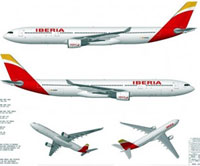 La nueva imagen corporativa de Iberia ya tiene forma