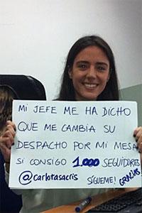 Carlota Sacristán Twitter
