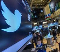 Twitter se dispara en bolsa